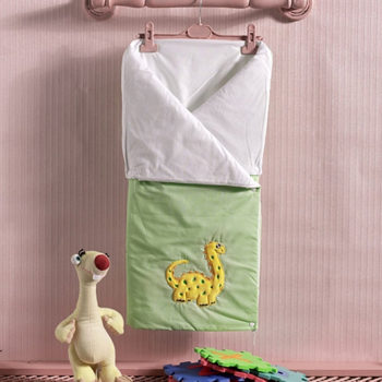 Трансформер одеяло/конверт, «BABY DINOS» 100% хлопок/наполнение  100% полиэстер
