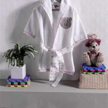 Халат махровый серии «Cute Bear», 100% хлопок