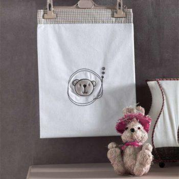 Плед хлопок/велюр серии «Little Bear», 75% хлопок, 25% полиэстер, размер 80*90 см