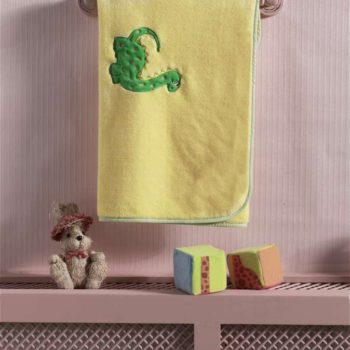 Плед велсофт «Baby Dinos», 100% полиэстер, размер 80*120 см