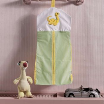 Прикроватная сумка серии «Baby Dinos», 100% хлопок, размер 30*65