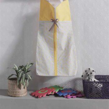 Прикроватная сумка серии «Butterfly», 100% хлопок, размер 30*65