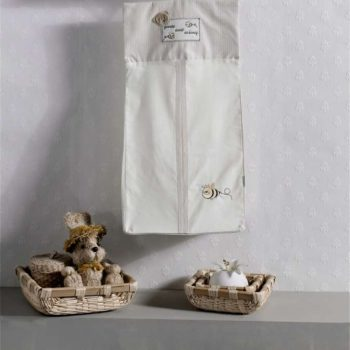 Прикроватная сумка серии «HONEY BEAR SOFT», 100% хлопок, размер 30*65