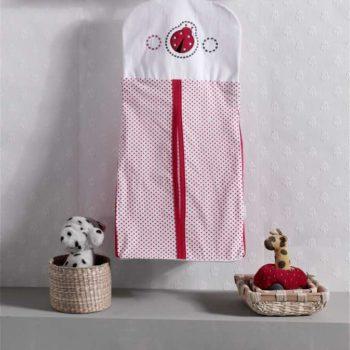 Прикроватная сумка серии «Little Ladybug», 100% хлопок, размер 30*65