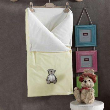 Трансформер одеяло/конверт, «LITTLE BEAR» 100% хлопок/наполнение  100% полиэстер