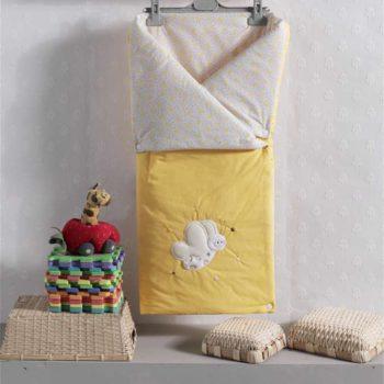 Трансформер одеяло/конверт, «BUTTERFLY» 100% хлопок/наполнение  100% полиэстер