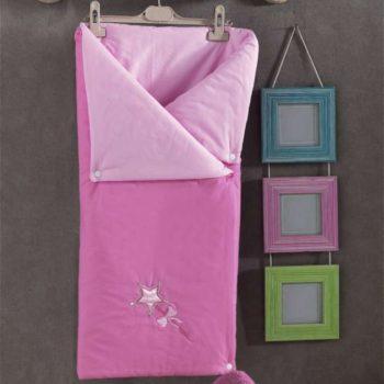 Детский постельный набор. Трансформер одеяло/конверт, «LITTLE PRINCESS» 100% хлопок/наполнение 100% полиэстер