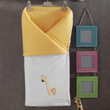 Детский постельный набор. Трансформер одеяло/конверт, «My Animals» 100% хлопок/наполнение  100% полиэстер