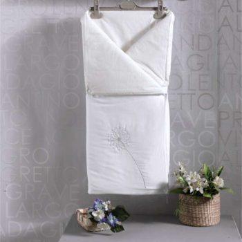 Детский постельный набор. Трансформер одеяло/конверт, «SPRING SATEN» 100% хлопок/наполнение  100% полиэстер