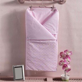 Детский постельный набор. Трансформер одеяло/конверт, «SWEET FLOWERS» 100% хлопок/наполнение  100% полиэстер