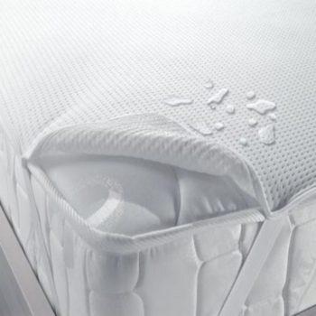 Наматрасники непромокаемые на эластичных резинках QuAqua CARESS (белый)