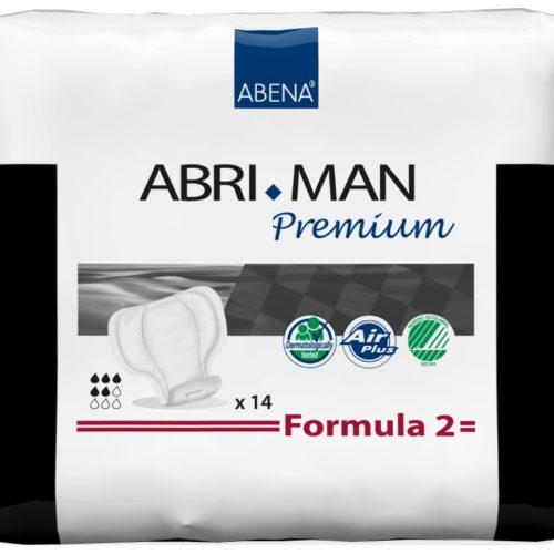 "alt=""впитывающие прокладки abri-man premium formula 2"""