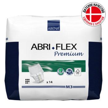 Abri-Flex Premium Подгузник-трусики M3(ночные)