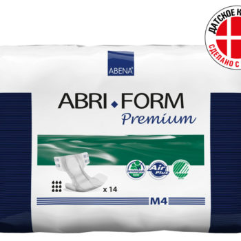 Abri-Form Premium подгузник для взрослых M4(ночные 3600 мл)